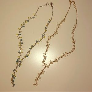 Two Lucky Brand beaded necklaces